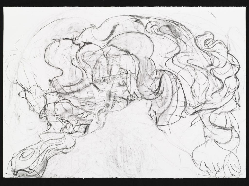 2009 - Agitator - 70x100 - Charcoal, pencil on paper