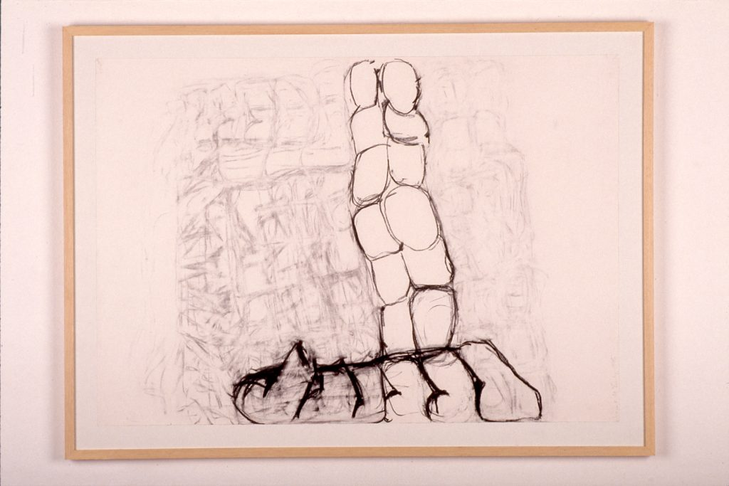 1993 - Untitled - 80x100 - Charcoal on Paper